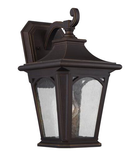 Quoizel Bedford Outdoor Pedestal Light Mystic Black: Quoizel BFD8408PN Bedford 1 Light 16 Inch Palladian Bronze