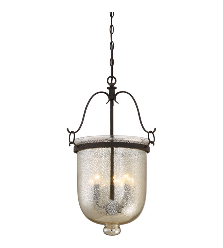 quoizel bgs5203rk burgess 3 light 15 inch rustic black foyer