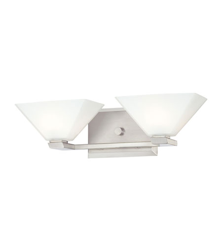 Quoizel Lighting Burke 2 Light Bath in Brushed Nickel BKE8602BN photo