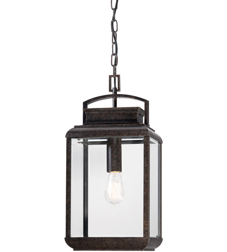 Quoizel BRN1910IB Byron 1 Light 10 inch Imperial Bronze Outdoor Hanging Lantern photo