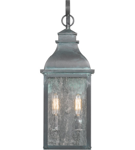 Quoizel BRS8407AGV Branson 2 Light 20 inch Aged Verde Outdoor Wall Lantern alternative photo thumbnail