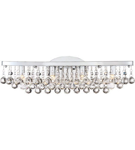 Quoizel Brx8604c Bordeaux 4 Light 23 Inch Polished Chrome Bath Wall Extra Large