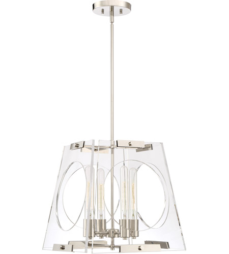 Quoizel Polished Nickel Steel Foyer Pendants