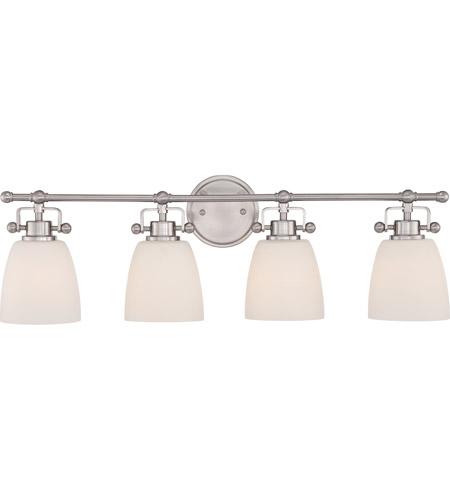 Quoizel BWR8603BN Three Light Vanity Bath Fixture Brushed Nickel Finish