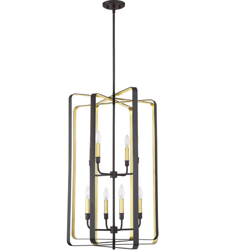 Quoizel Western Bronze Steel Foyer Pendants