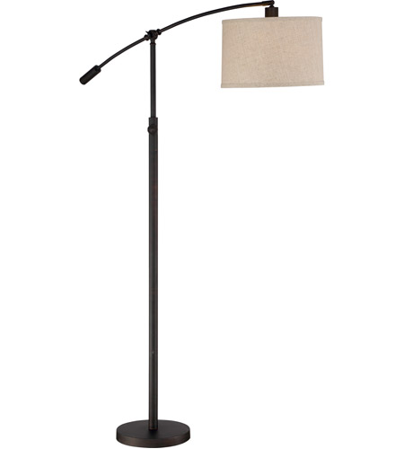 Quoizel Cft9364oi Clift 65 Inch 75 Watt Oil Rubbed Bronze Floor Lamp Portable Light