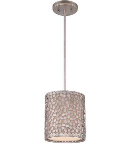 Quoizel CKCF1508OS Confetti 1 Light 8 inch Old Silver Mini Pendant Ceiling Light photo