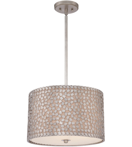 Quoizel CKCF2816OS Confetti 3 Light 16 inch Old Silver Pendant Ceiling Light photo