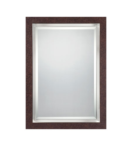 Quoizel Lighting Sierra Mirror in Brown CKSR43525 photo