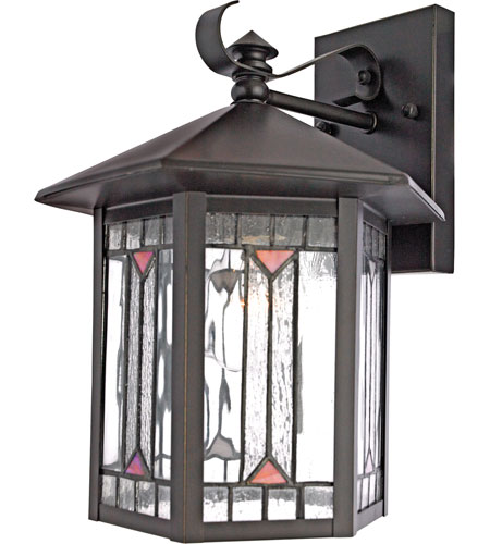 Quoizel Lighting Chaparral 1 Light Outdoor Wall Lantern in Medici Bronze CL8427Z photo