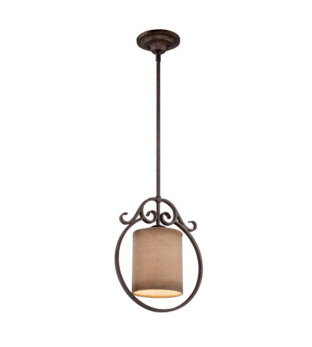Quoizel Lighting Carlsbad 1 Light Mini Pendant in Old Bronze CLS1512OZ photo