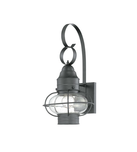 Quoizel COR8409K Cooper 1 Light 18 inch Mystic Black Outdoor Wall Lantern in Standard photo