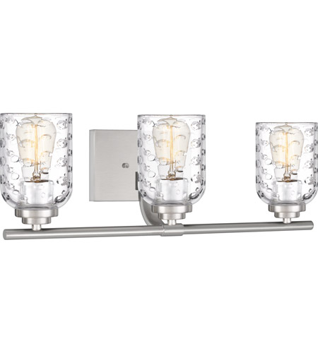 Quoizel CRI8603BN Cristal 3 Light 21 inch Brushed Nickel Vanity Light Wall Light alternative photo thumbnail
