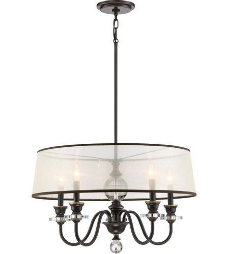 Ceremony 5 Light 25 Inch Palladian Bronze Chandelier Ceiling