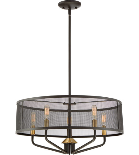 Ceiling Lights Western Sydney: Quoizel CTS2822WT Cityscape 5 Light 22 Inch Western Bronze