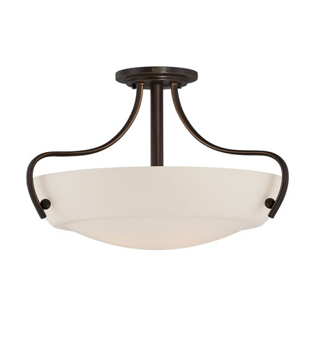Quoizel Lighting Chantilly 4 Light Semi-Flush Mount in Palladian Bronze CY1722PN photo