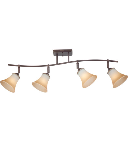 Quoizel Lighting Duchess 4 Light Ceiling Track Light in Palladian Bronze DH1404PN photo