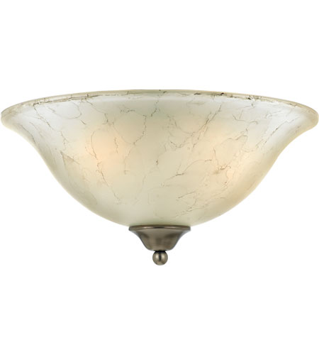 Quoizel Lighting Duchess 2 Light Flush Mount in Antique Nickel DH1616AN photo