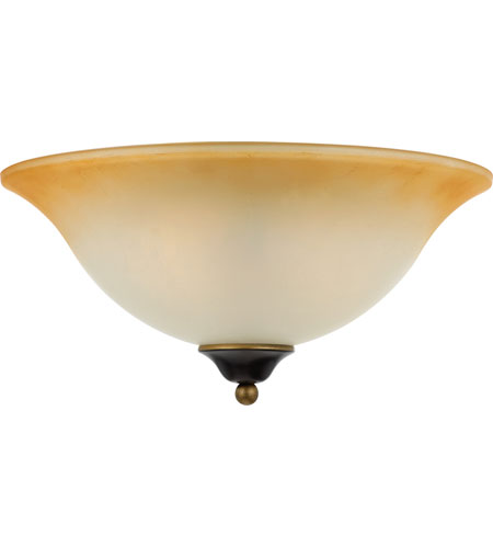 Quoizel Lighting Duchess 2 Light Flush Mount in Palladian Bronze DH1616PN photo