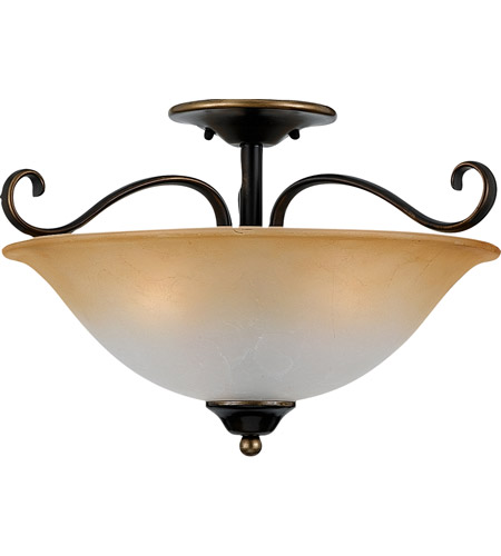 Quoizel DH1718PN Duchess 3 Light 17 inch Palladian Bronze Semi-Flush Mount Ceiling Light photo