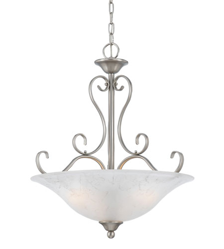 Quoizel Lighting Duchess 4 Light Pendant in Antique Nickel DH2820AN photo