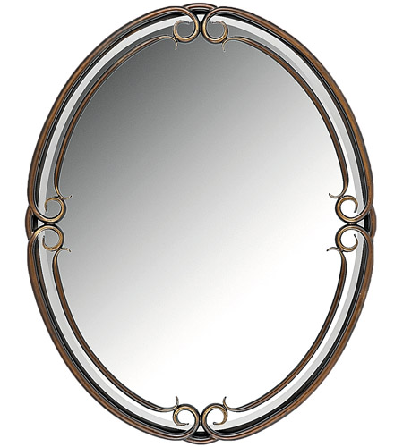 Quoizel Lighting Duchess Mirror in Palladian Bronze DH43024PN photo