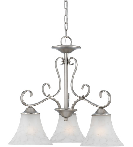 Quoizel Lighting Duchess 3 Light Chandelier in Antique Nickel DH5103AN photo
