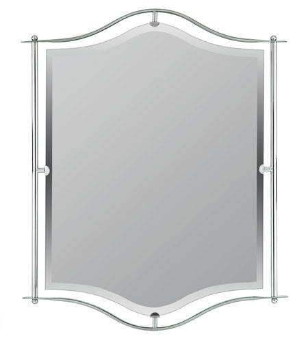 Quoizel Bathroom Mirrors quoizel lighting demitri mirror in empire silver di43224es