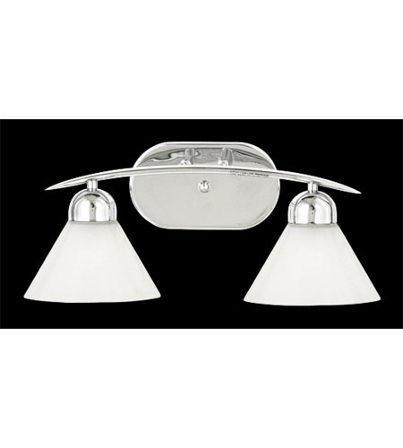 Quoizel Demitri 2 Light Bath Light in Polished Chrome DI8502C photo