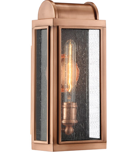 Aged Copper Outdoor Wall Lights
