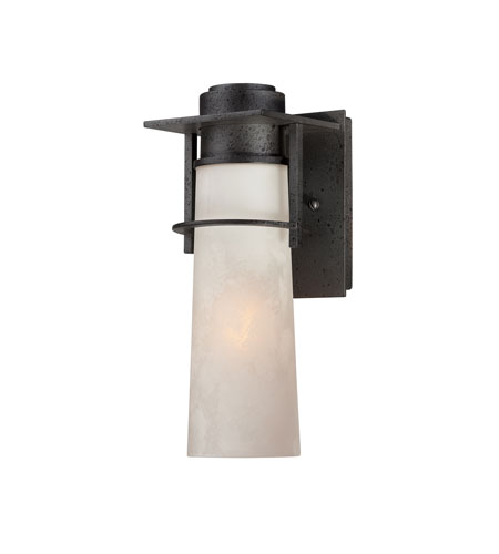 Quoizel Lighting Drew 1 Light Outdoor Wall Lantern in Iron Age DRE8405IR photo