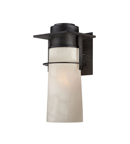 Quoizel Lighting Drew 1 Light Outdoor Wall Lantern in Iron Age DRE8408IR photo