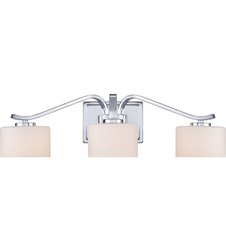 Quoizel Bathroom Lighting Fixtures quoizel devlin 3 light bath light in polished chrome dvn8603c