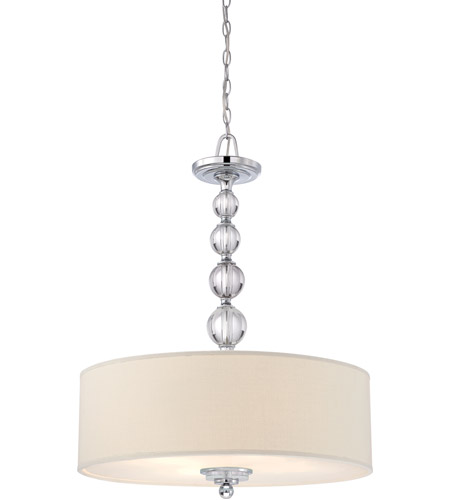 Quoizel Lighting Downtown 4 Light Pendant in Polished Chrome DW1824C photo