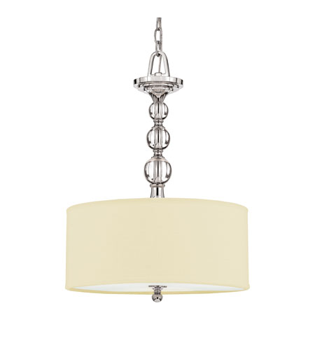 Quoizel Lighting Downtown 3 Light Pendant in Polished Chrome DW2817C photo