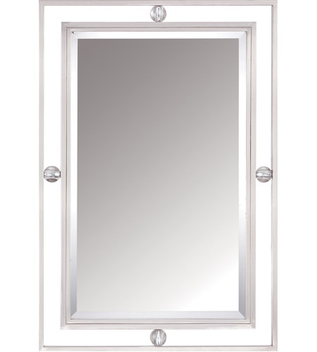 Quoizel Lighting Downtown Mirror in Brushed Nickel DW43222BN photo