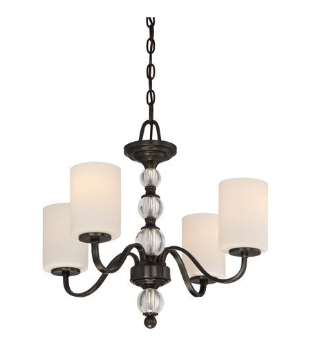 Quoizel DW5004D Downtown 4 Light 22 inch Dusk Bronze Chandelier Ceiling Light photo
