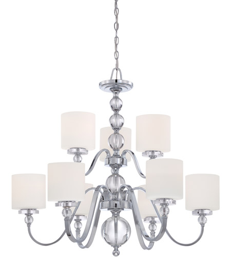 Quoizel DW5009C Downtown 9 Light 36 inch Polished Chrome Chandelier Ceiling Light  photo