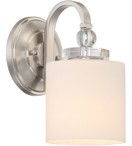 Quoizel DW8701BN Downtown 1 Light 6 Inch Brushed Nickel Wall Sconce Wall  Light