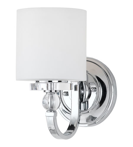 Quoizel DW8701C Downtown 1 Light 6 inch Polished Chrome Wall Sconce Wall Light DW8701C-(2).jpg