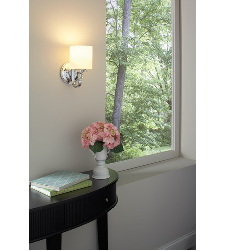 Quoizel DW8701C Downtown 1 Light 6 inch Polished Chrome Wall Sconce Wall Light DW8701C_5_.jpg