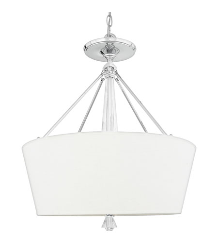 Quoizel Lighting Deluxe 5 Light Pendant in Polished Chrome DX2830C photo