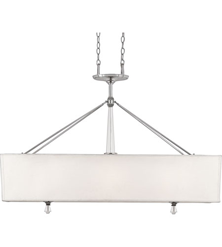 Quoizel Lighting Deluxe 3 Light Island Light in Polished Chrome DX348C photo