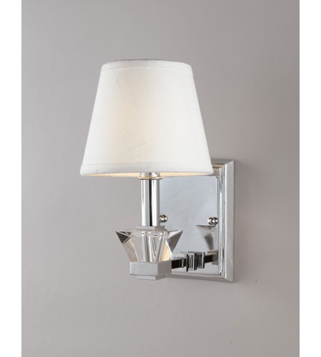 Quoizel Lighting Deluxe 1 Light Wall Sconce in Polished Chrome DX8701C photo