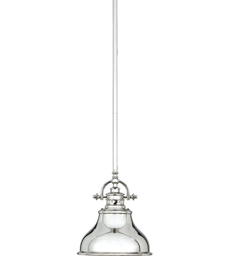 Quoizel Lighting Emery 1 Light Mini Pendant in Imperial Silver ER1508IS photo