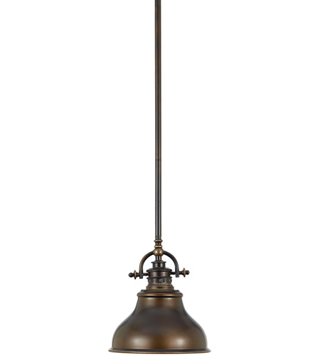 Quoizel Lighting Emery 1 Light Mini Pendant in Palladian Bronze ER1508PN photo