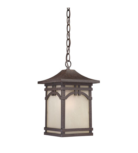 Quoizel Lighting Ethan 1 Light Outdoor Hanging Lantern in Imperial Bronze ETN1908IB photo