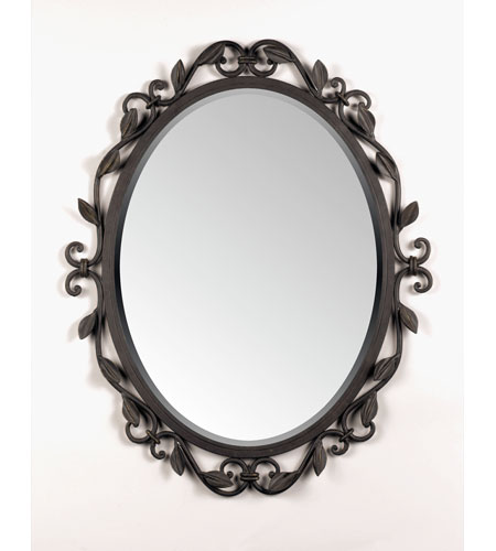 Quoizel EW43024IB Englewood 30 X 24 inch Imperial Bronze Wall Mirror Home Decor photo