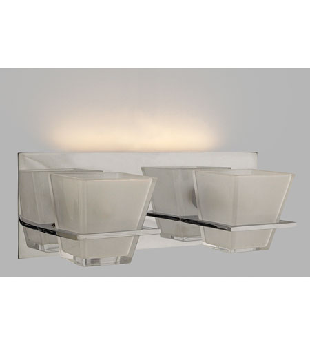 Quoizel Lighting Forme Angles 2 Light Bath Light in Polished Chrome FMAG8612C photo