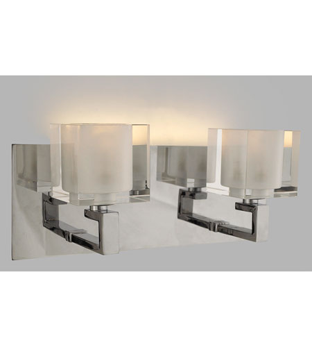 Quoizel Lighting Forme Cubes 2 Light Bath in Polished Chrome FMCB8612C photo